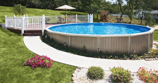 Semi In Ground Swimming Pool Design Plans Swimming Pool