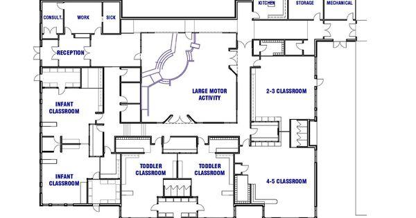 Sample Floor Plans For Daycare Center: FACILITY SKETCH (Floor Plan)