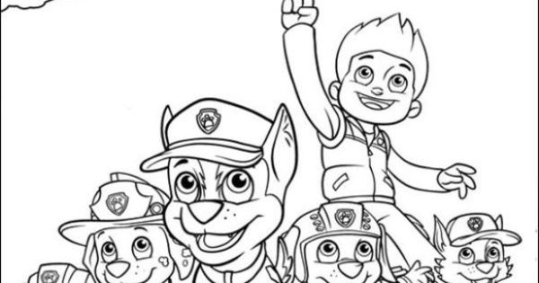 Free Nick Jr Paw Patrol printable