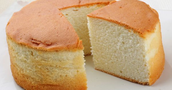 Made without any butter this vanilla sponge cake is a for Cake recipe without butter