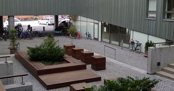 West8 courtyard amerika plads copenhagen detalles for Mobiliario urbano contemporaneo