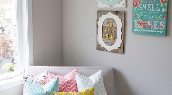 loving these nursery colors Darbi Jilek I want Aubrey's room to look