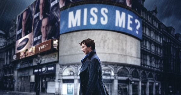 Sherlock Season 4 Promo Poster! | It won't be premiering until New Years, but which new years? I mean, just kill us now Moffat.
