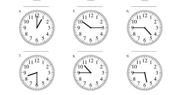 measurement worksheet reading time on an analog clock in 15 minute intervals a school. Black Bedroom Furniture Sets. Home Design Ideas