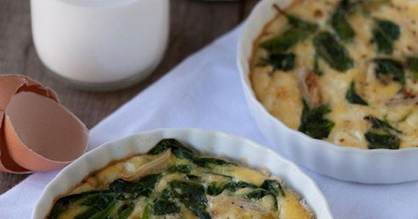 Fried garlic, Goat cheese quiche and Garlic spinach on Pinterest