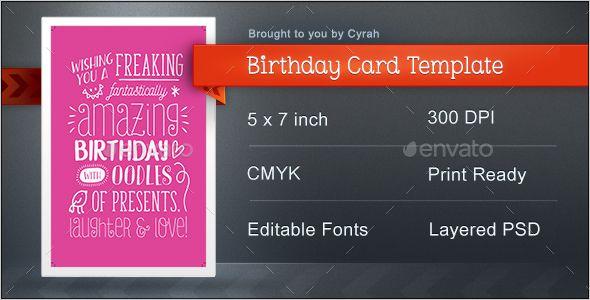 Birthday Card Template Birthday Card Template Birthday Cards Website Template Design