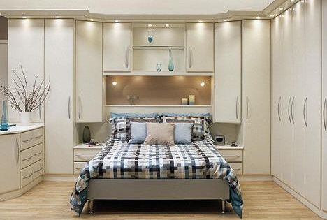 Built-ins are great for more storage | Bedroom | Pinterest ...