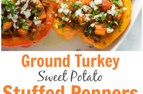 Ground turkey, Stuffed peppers and Whole 30 on Pinterest