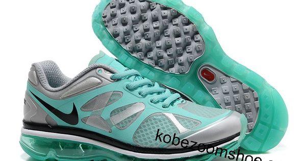 buy online 97140 dc4a3 ... Nike Air Max 2012 Wolf Grey Tiffany Blue Shoes   Tiffany Blue Nikes    Pinterest Nike Free 5.0 Sko Tilbud ...