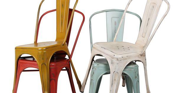 Silla terek metal vintage color edition sillas - Superstudio muebles ...
