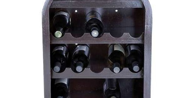 Wine bottle shaped wine rack wine gifts pinterest bottle wine racks and wine bottles - Wine rack shaped like wine bottle ...