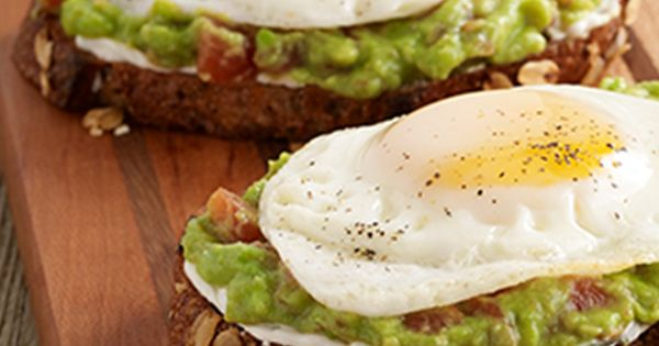 ... Avocado Toast with Egg | Recipe | Whole Grain Bread, Toast and Grains