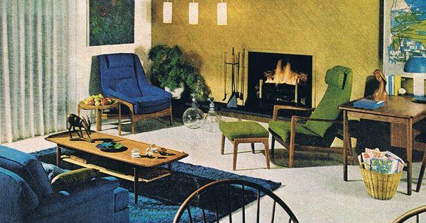 Lighting idea scandinavian style better homes and gardens 1967 mid century interior - Better homes and gardens interior designer ...