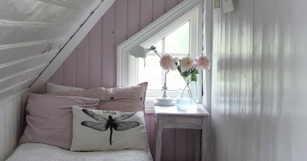 Small Attic Bedroom What Grandma Would Have Called The Skinny Room Farmhouse Living