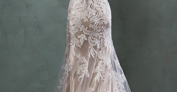 amelia sposa 2016 wedding dresses beautiful cap sleeves v scallop neckline embroidered