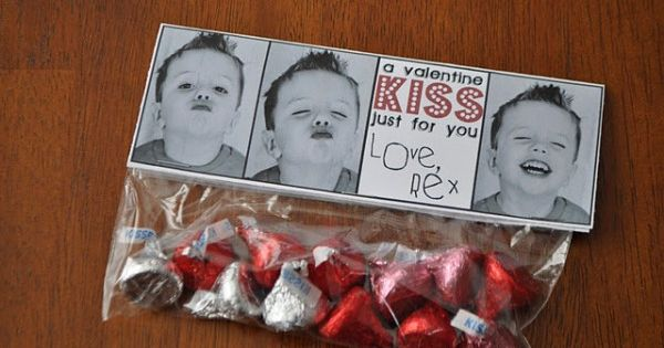 Cute Valentine Idea. - Valentine's Kisses