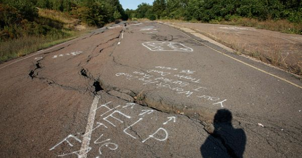 Visiting Centralia, the bizarre ghost town with an eternal ...