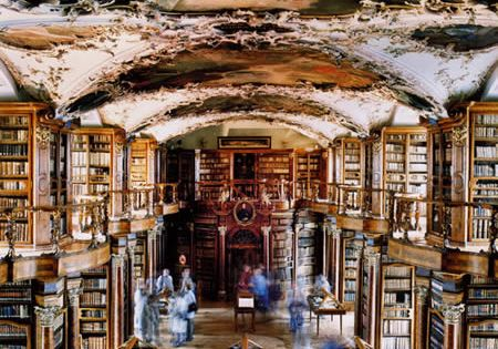Abbey Library St. Gallen, Switzerland. I would love to travel here someday.