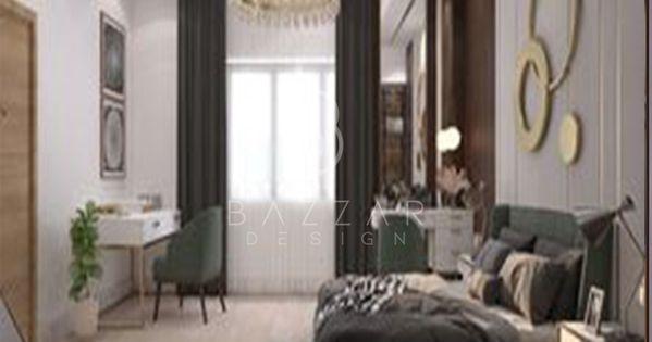 غرفه نوم بالون البيج مع ارضيات باركيه واضاءه عاليه وتصميم مميز وعصري Beige Bedroom With Parquet Flooring High Light Distinctive A Home Decor Furniture Home