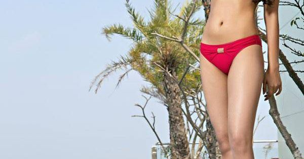 Femina Miss India Kolkata 2014 Finalist Ayesha Ghosh During A Bikini Shoot Style Fashion