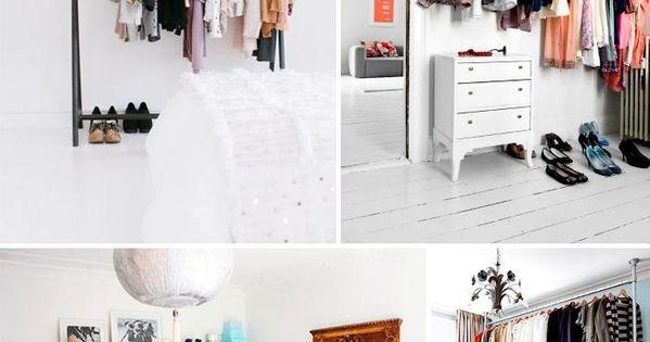 Armarios abiertos para espacios peque os decoraci n - Armarios espacios pequenos ...