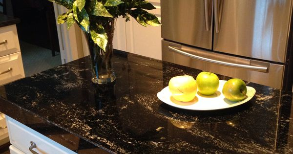 Milky Way Granite Black Kitchen Counters Kitchens