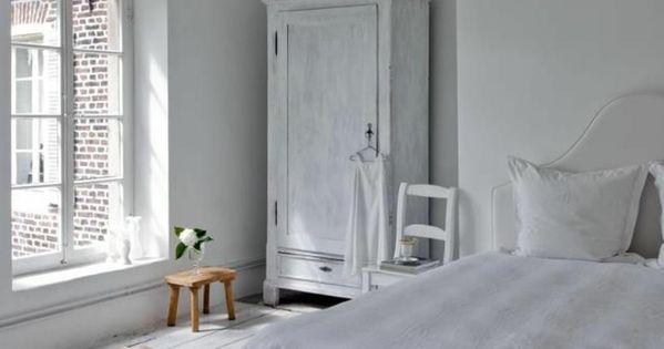 Le parquet blanc une jolie tendance d co for Jolie chambre a coucher