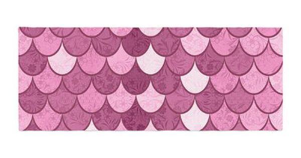 Kess InHouse Famenxt Pattern Purple Lavender Abstract Cotton Queen Duvet Cover 88 x 88