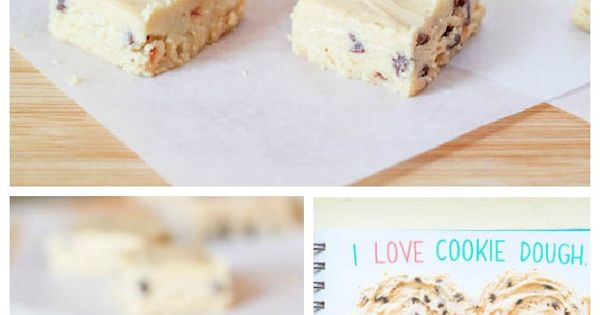 Chocolate Chip Cookie Dough Fudge - also on this page (link) is