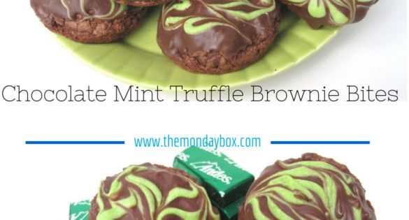 Truffles, Andes chocolate and Brownie bites on Pinterest