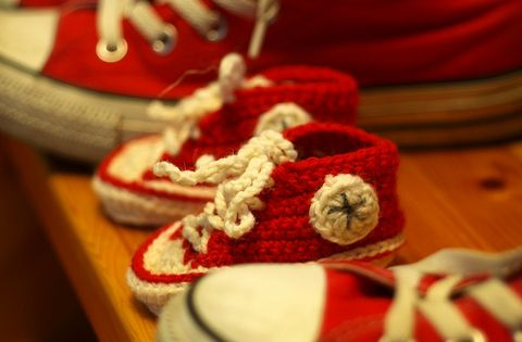 Crochet baby all stars, free pattern