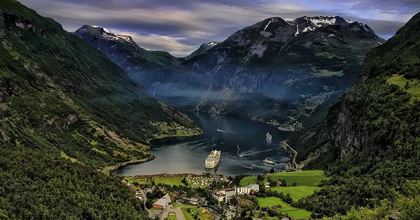 Photo Geirangerfjord by Michele Galante on 500px