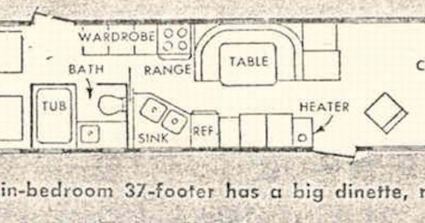 Floor Plan Close To The Spartan I Grew Up In Vintage
