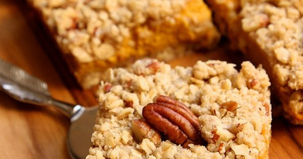 creamy pumpkin pie bars and other delicious fall recipes