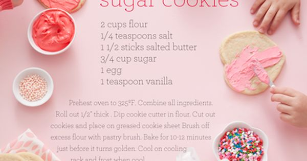 Sugar cookies | nicole hill gerulat food recipe sugar cookies sweet