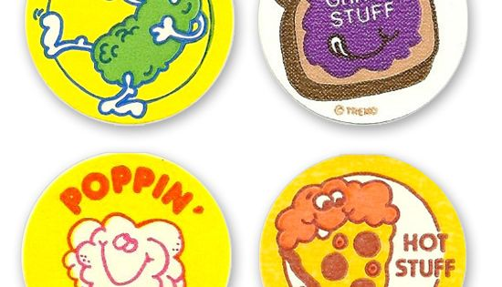 Scratch N sniff I had a special book for my scratch and sniff sticker collection. My friends and I would by sheets of these smelly stickers and swap them with one another. The highlight of a Monday at school was showing off the newest addition to an ever-...