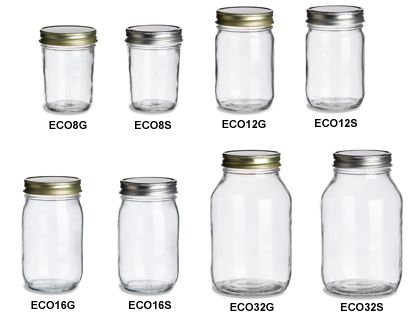 an entire website with tons of different bottles or jars you can