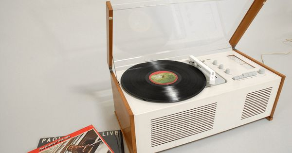 Dieter Rams & Hans Gugelot SK6 turntable for Braun 1961