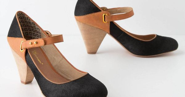 Pitched Whiskey Mary-Janes | great name Dancing Shoes!