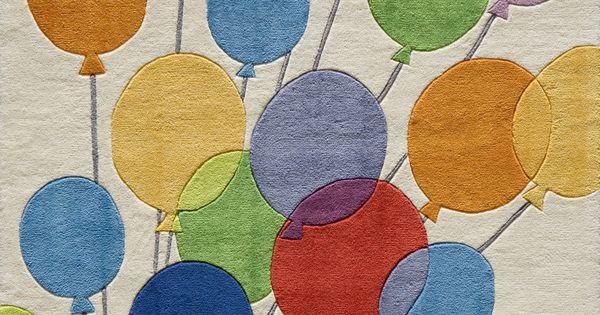 Momeni Lil Mo Whimsy Balloon Kids Rug : Home Inspiration ...