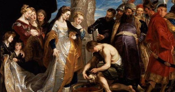 "Jew Detector: ""Tomyris Plunges The Head Of The Dead Cyrus Into A Vessel"