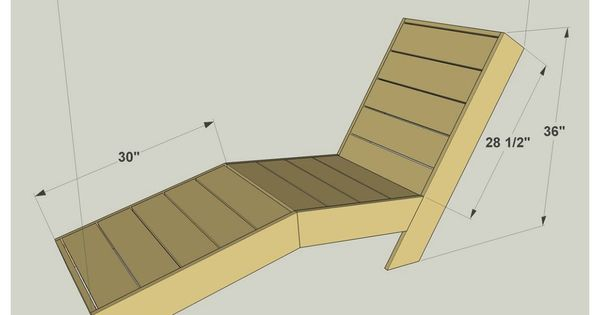 Diy outdoor chaise lounge free plans at buildsomething for Build chaise lounge