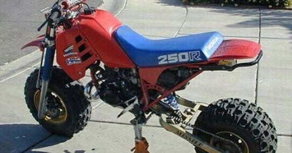Atc 250r Two Wheel Missile Kit Conversion Atv Com Custom Mini Bike Bike Kit Mini Bike