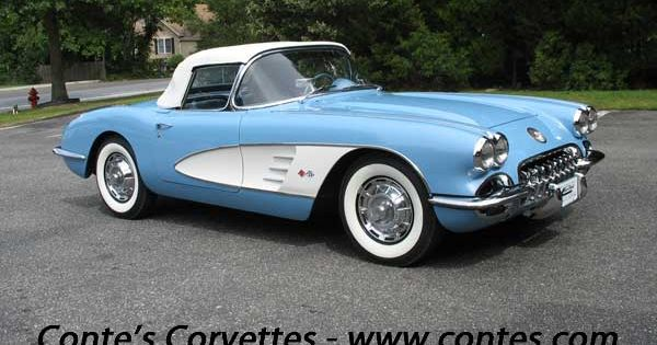 Corvettes Of Houston >> *1953 Corvette convertible, love the 2tone color, and wide ...