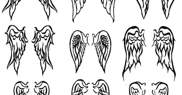 Angel Wings Tattoo Idea