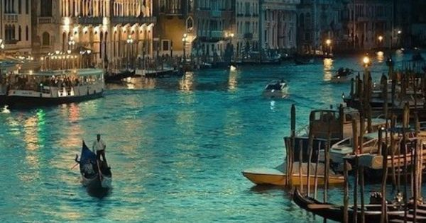 Grand Canal, Venice, Italy. Would LOVE to go back! Its Such a