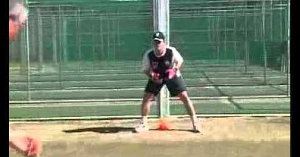 Wicket Keeping Basic Catching Drills 3 3 Wicket Drill Cricket