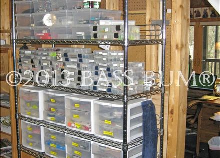 Fishing Tackle Gear A Fishing Man Cave Fishing Tackle
