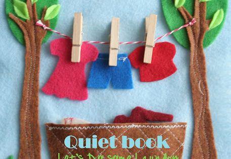 quiet book ideas w schek rbe w sche und spielb cher. Black Bedroom Furniture Sets. Home Design Ideas