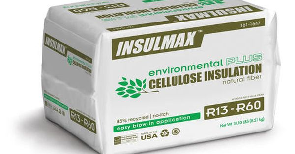 Insulmax Blow In Cellulose Insulation At Menards Insulmax Reg Blow In Cellulose Insulation Cellulose Insulation Loose Fill Insulation Cellulose